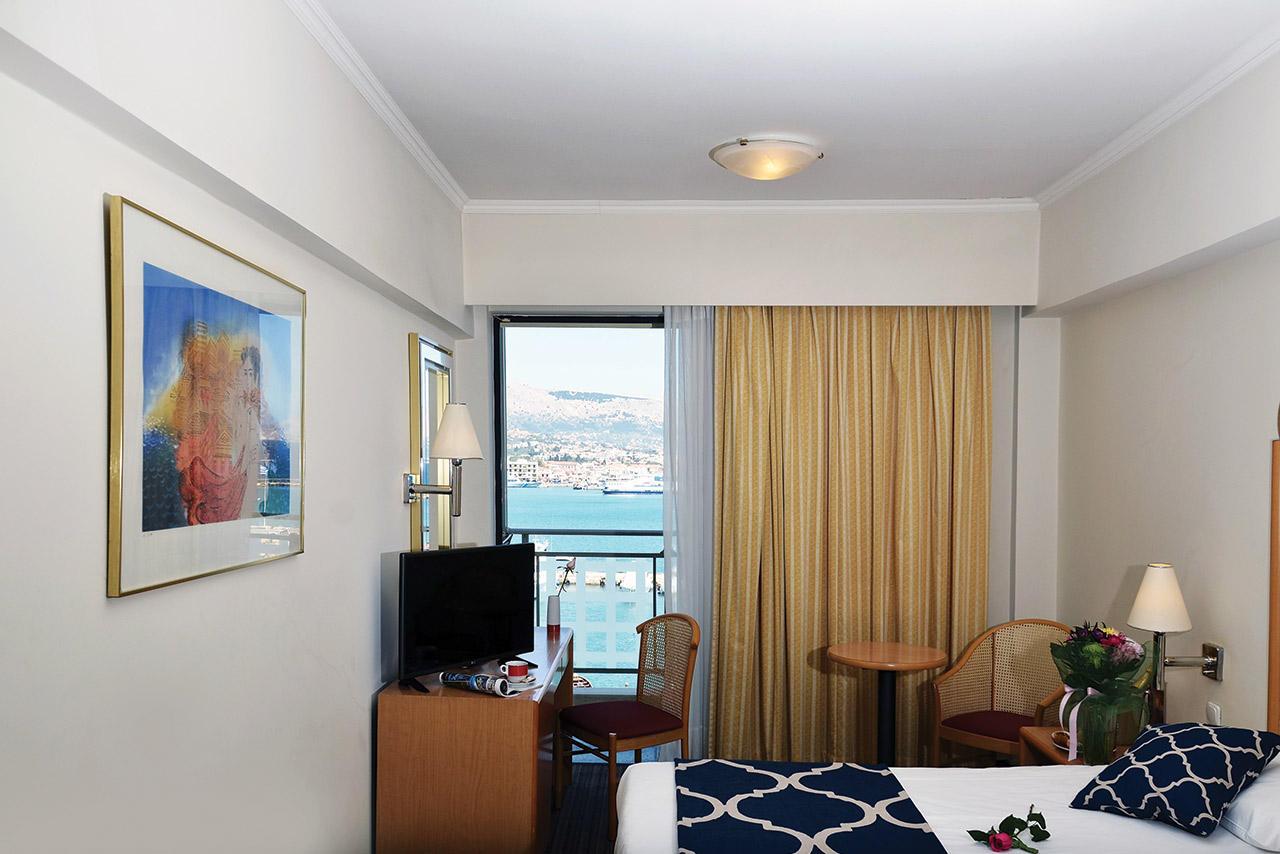 Chios Chandris Hotel - Standard Room with Port View